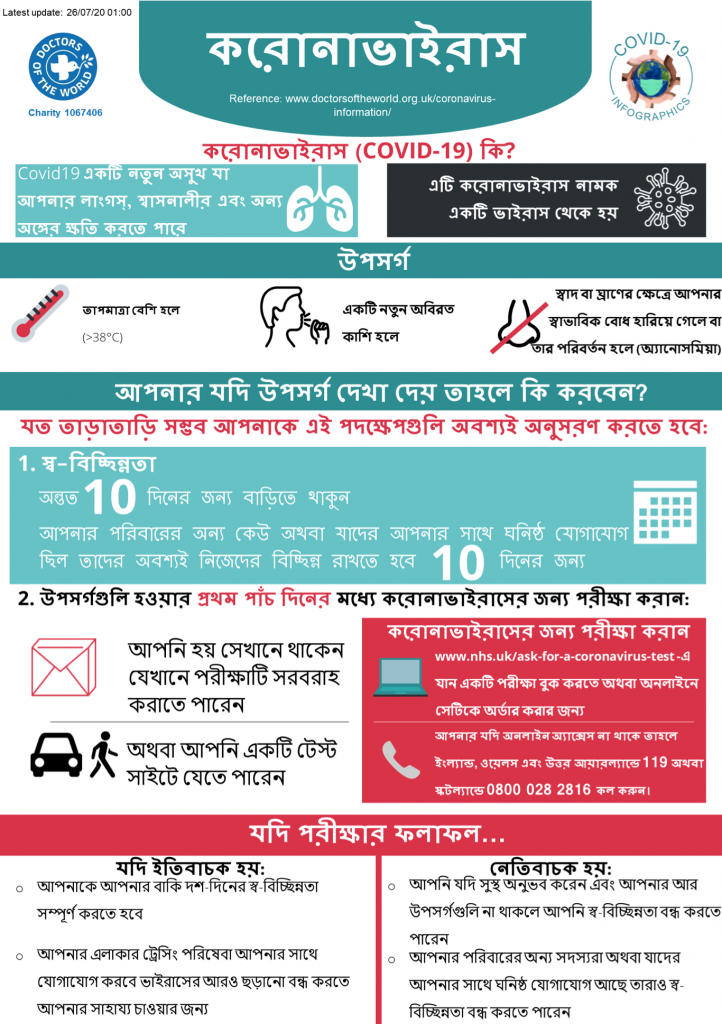 Bengali Infographics - Overview