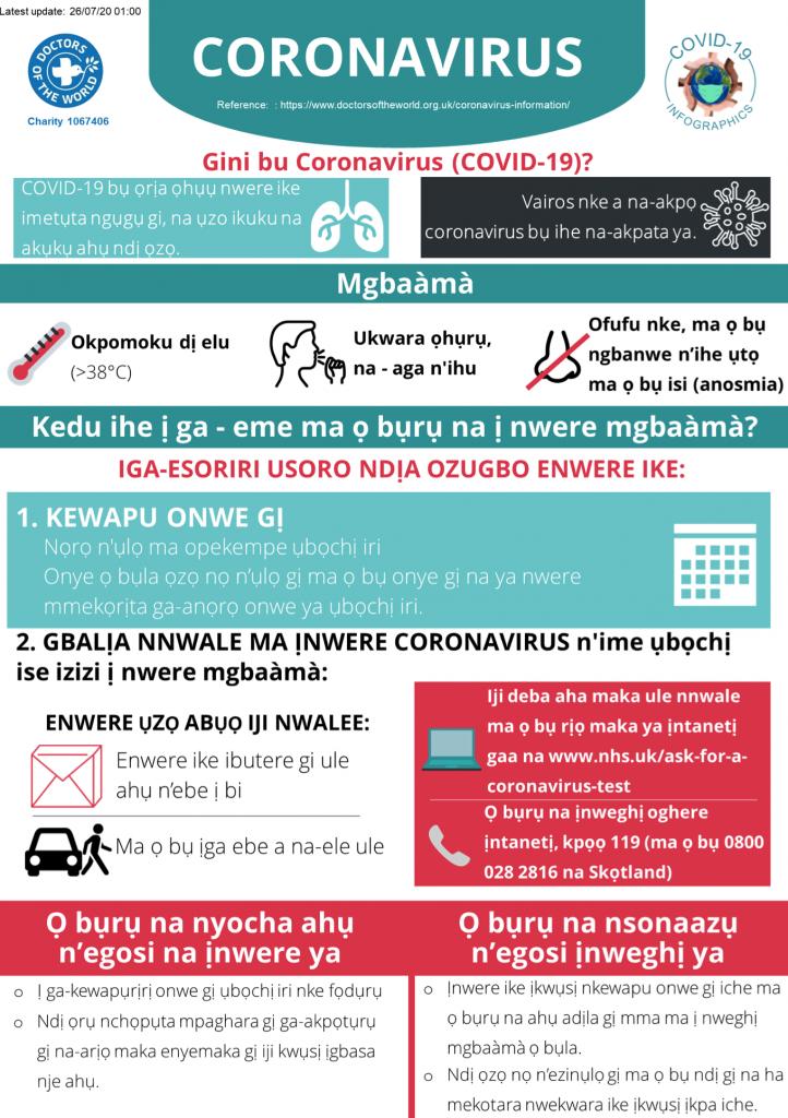 Igbo Infographics - Overview
