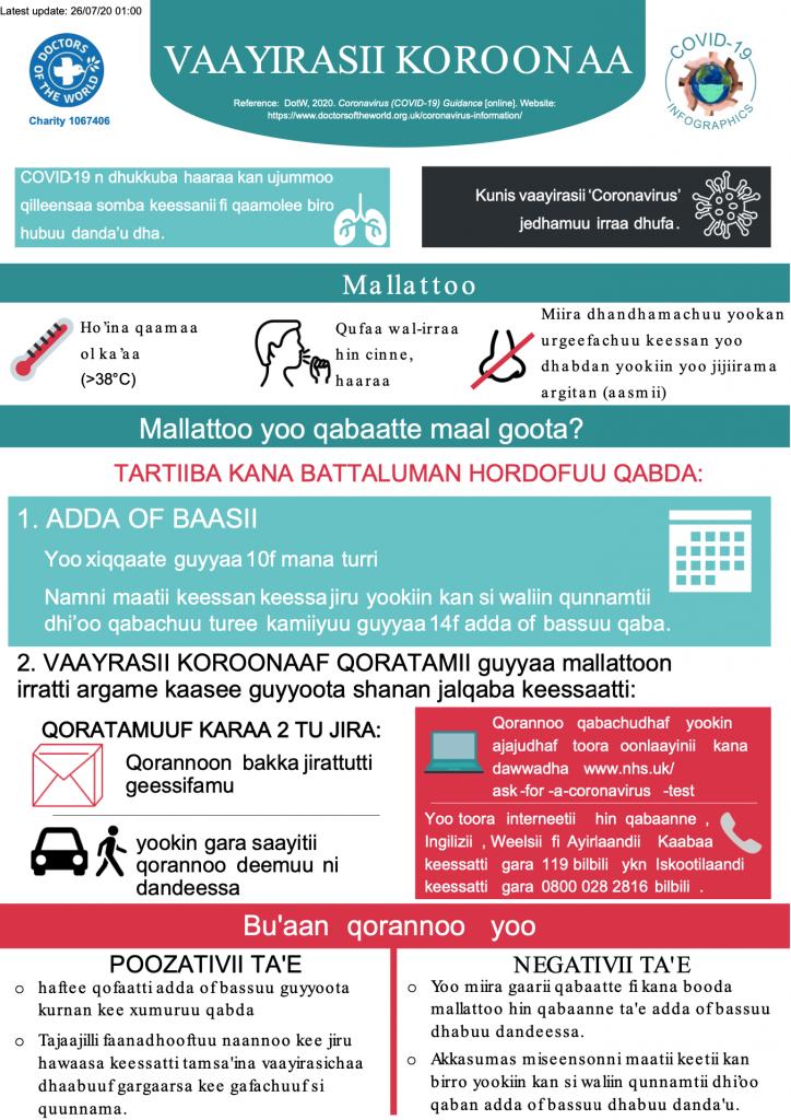 Oromo Infographics - Overview