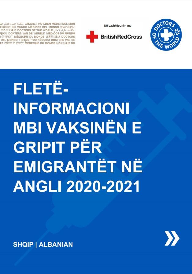 Albanian Flu Vaccine Info Sheet
