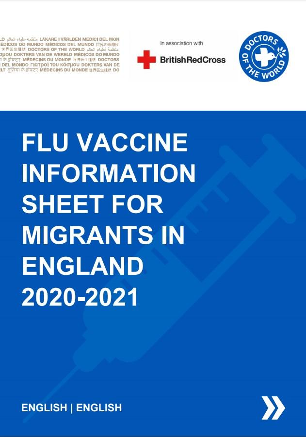 English Flu Vaccine Info Sheet