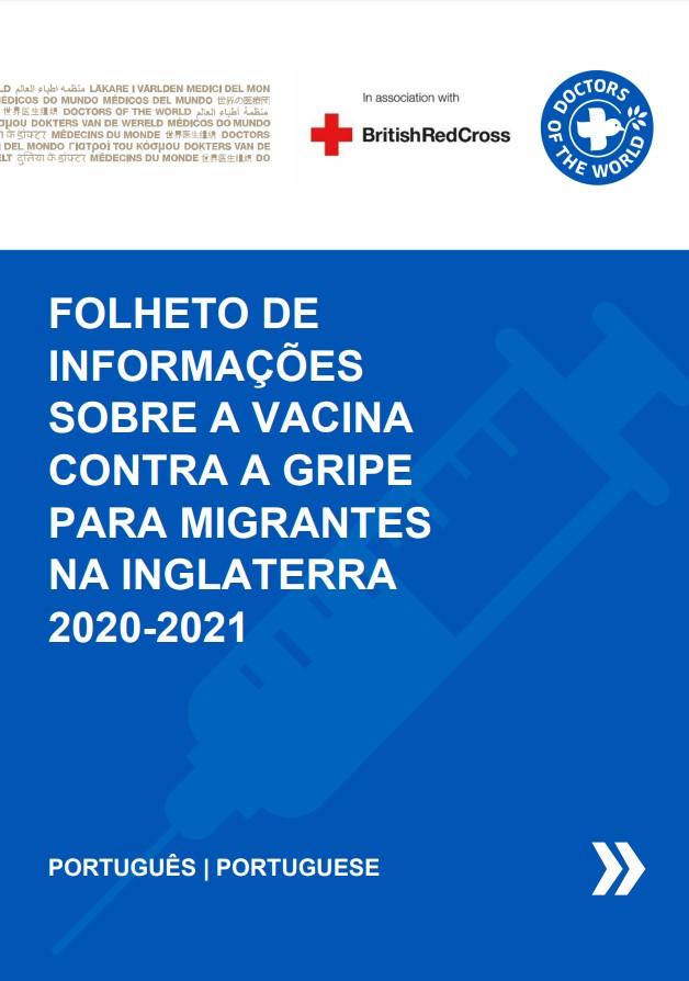 Portuguese Flu Vaccine Info Sheet