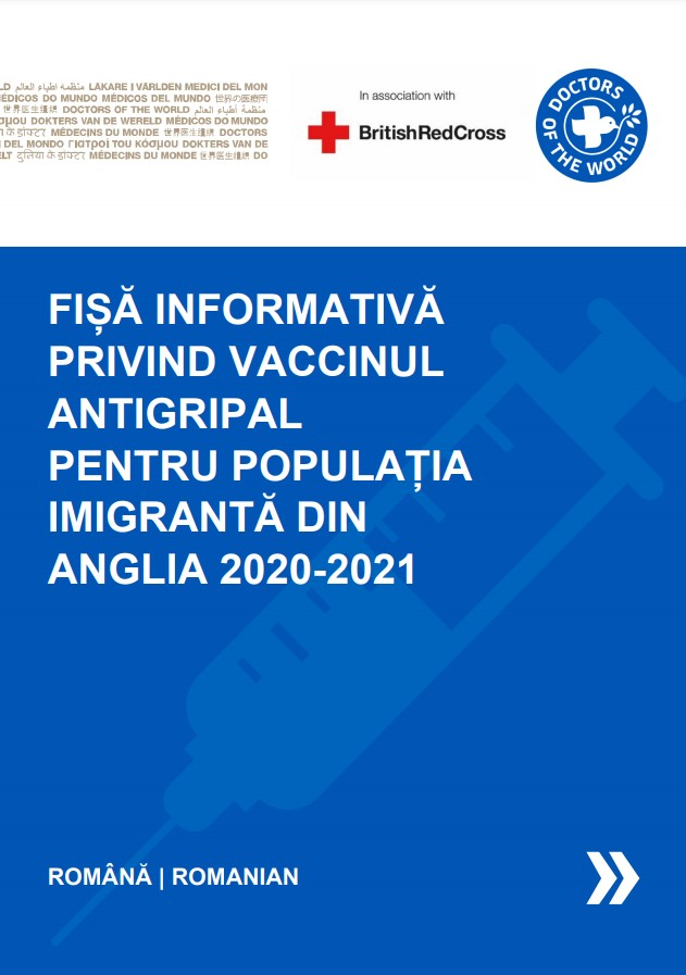 Romanian Flu Vaccine Info Sheet