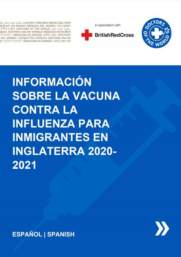 Spanish Flu Vaccine Info Sheet