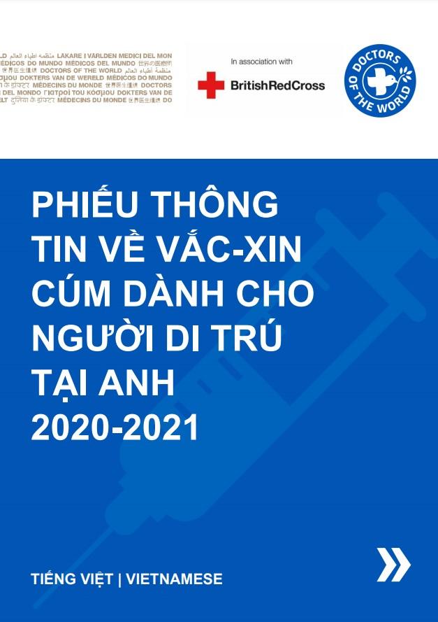 Vietnamese Flu Vaccine Info Sheet